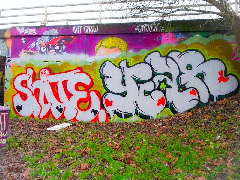 Turoe, M32 roundabout, Bristol, December 2020