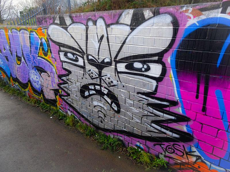 Daz Cat, Narroways, Bristol, January 2021