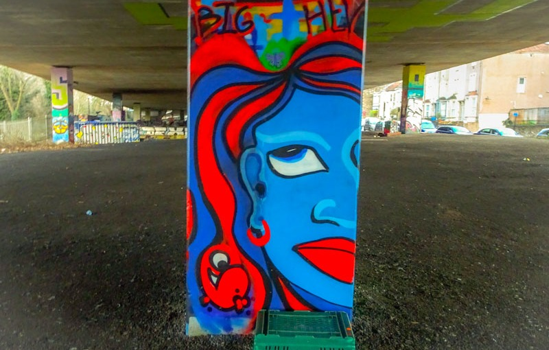 Big Hev, M32 Spot, Bristol, January 2021