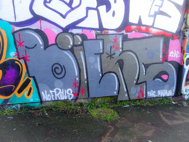 Biers, M32 Cycle path, Bristol, January 2021