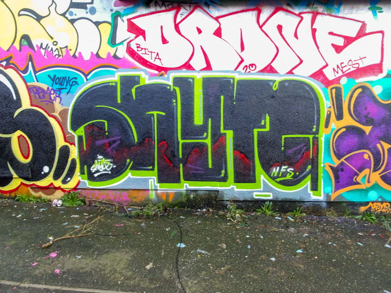 Turoe, Dean Lane, Bristol, January 2021