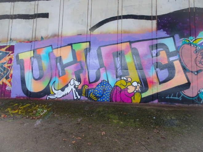 Ugloe, Frome side, Bristol, December 2020