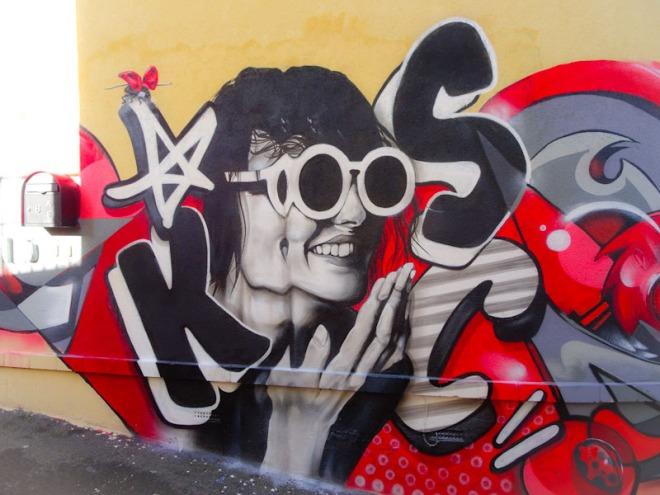Kosc, Picton Lane, Bristol, January 2021