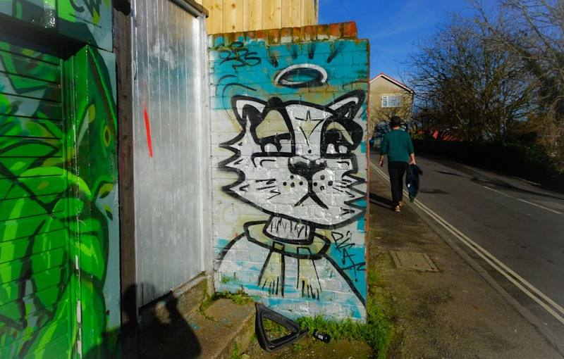 Daz Cat, St Andrews Road, Bristol, January 2021