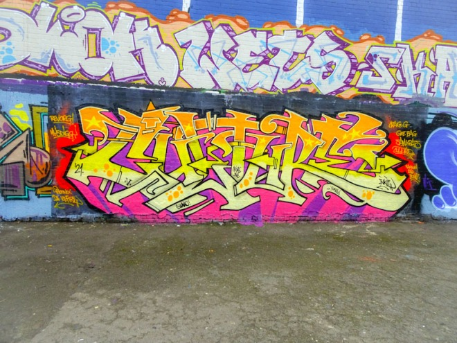 Inkie, Dean Lane, Bristol, February 2021