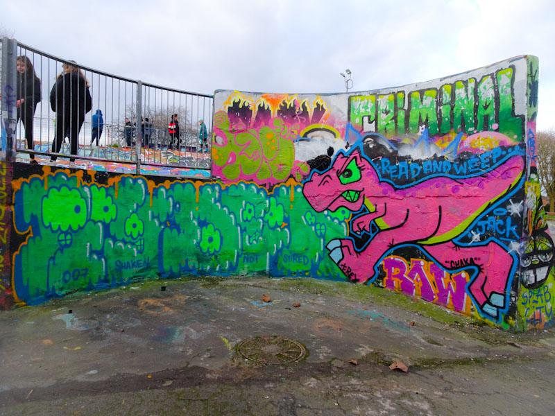 Ryder and T-Rex, Dean Lane, Bristol, February 2021