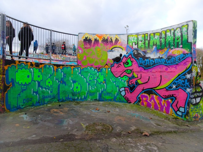 Ryder and T-Rex, Dean Lane, Bristol, February 2021