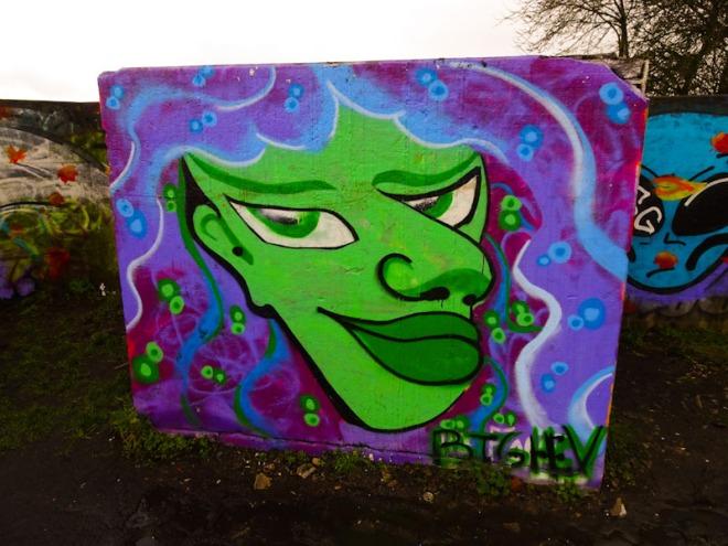 Big Hev, Purdown Battery, Bristol, February 2021