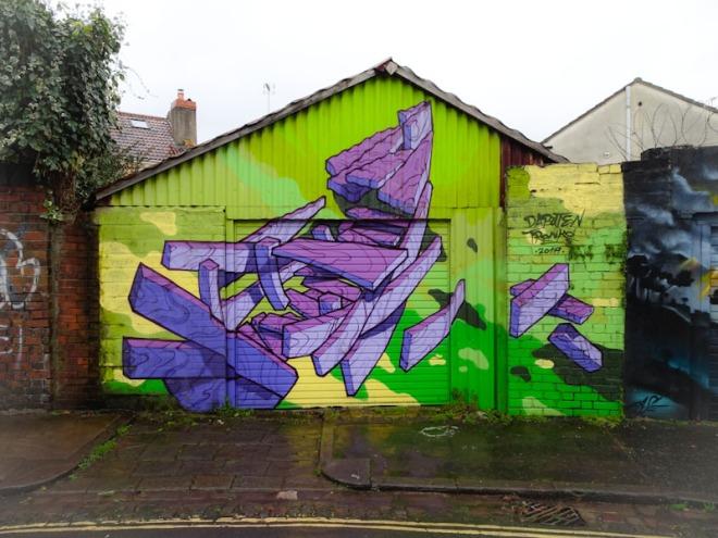 Dabuten Tronko, Felix Road, Bristol, February 2021