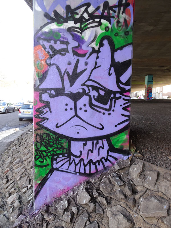 Daz Cat, M32 Spot, Bristol, February 2021
