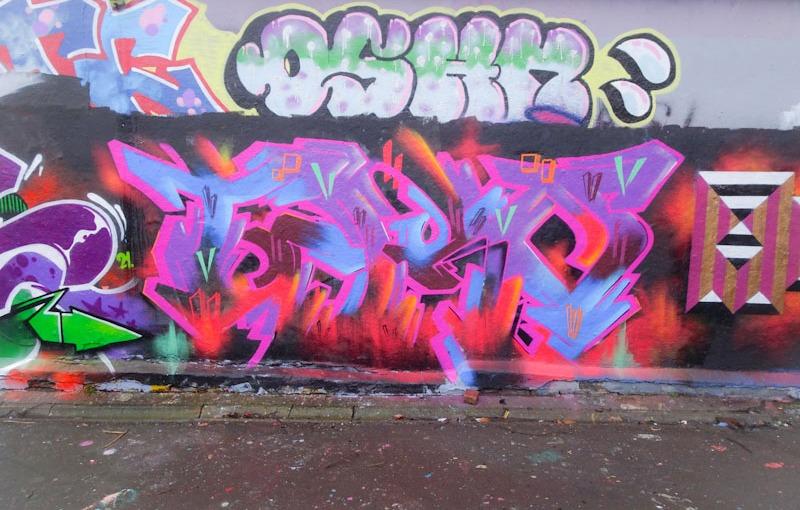 Benjimagnetic, Dean Lane, Bristol, February 2021