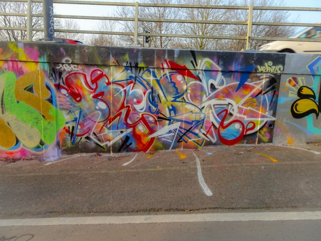Hemper, M32 roundabout, Bristol, March 2021