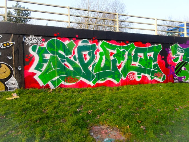 Dott Rotten, M32 roundabout, Bristol, March 2021