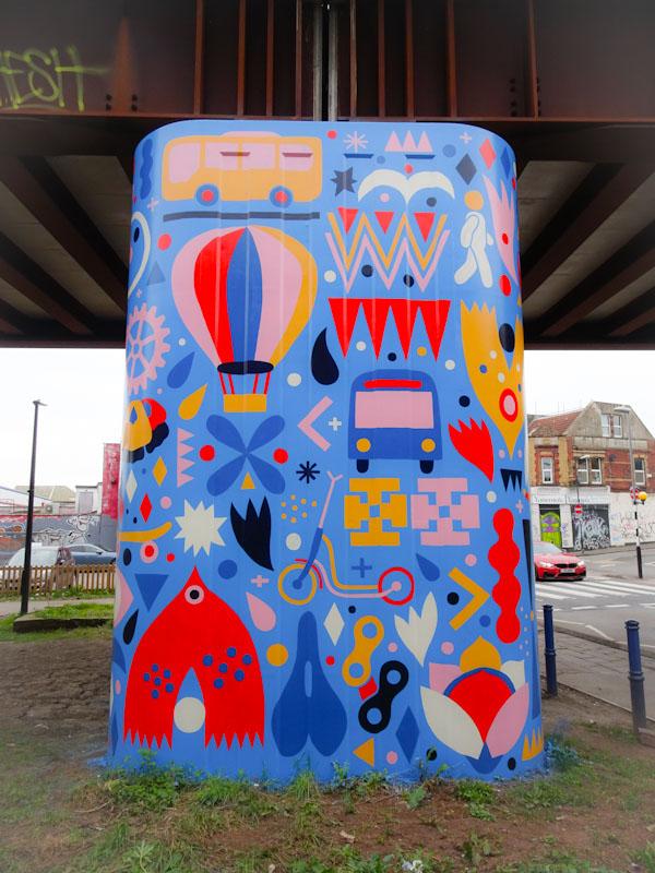 Anna Higgie, Stapleton Road, Bristol, March 2021