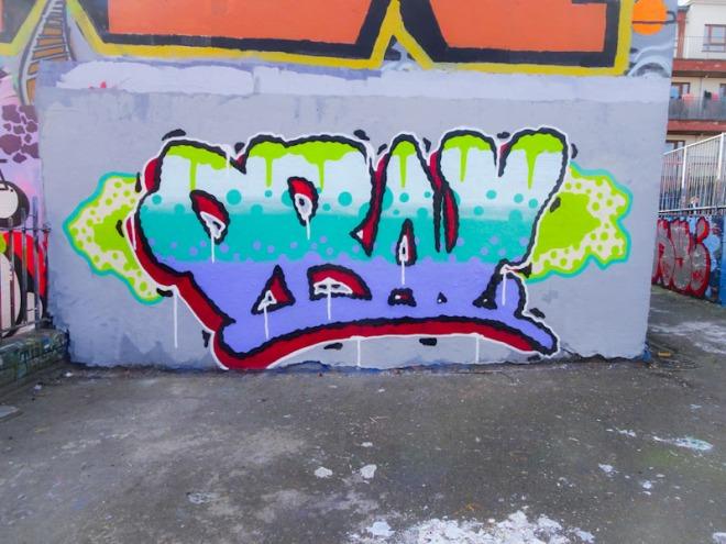 Mr Draws, Dean Lane, Bristol, March 2021