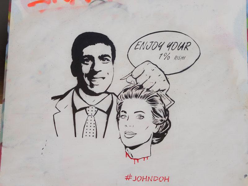 John D'oh, M32 Spot, Bristol, March 2021