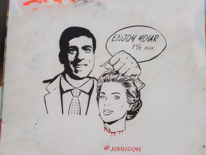 John D'oh, M32 Spot, Bristol, March 2021