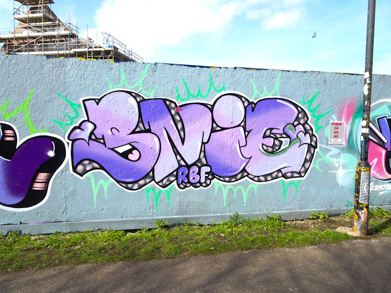 Bnie, Greenbank, Bristol, March 2021
