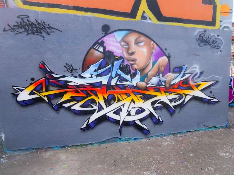 Dibz and Shade One, Dean Lane, Bristol, March 2021