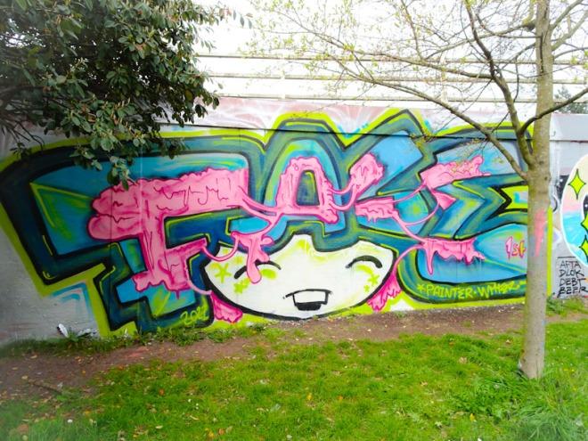 Face 1st, M32 roundabout, Bristol, April 2021