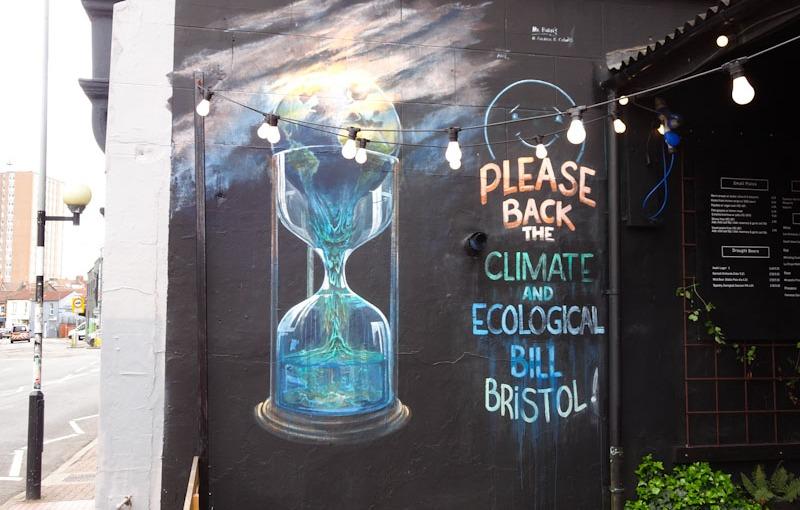 Andrew Burns Colwill, North Street Standard, Bristol, April 2021