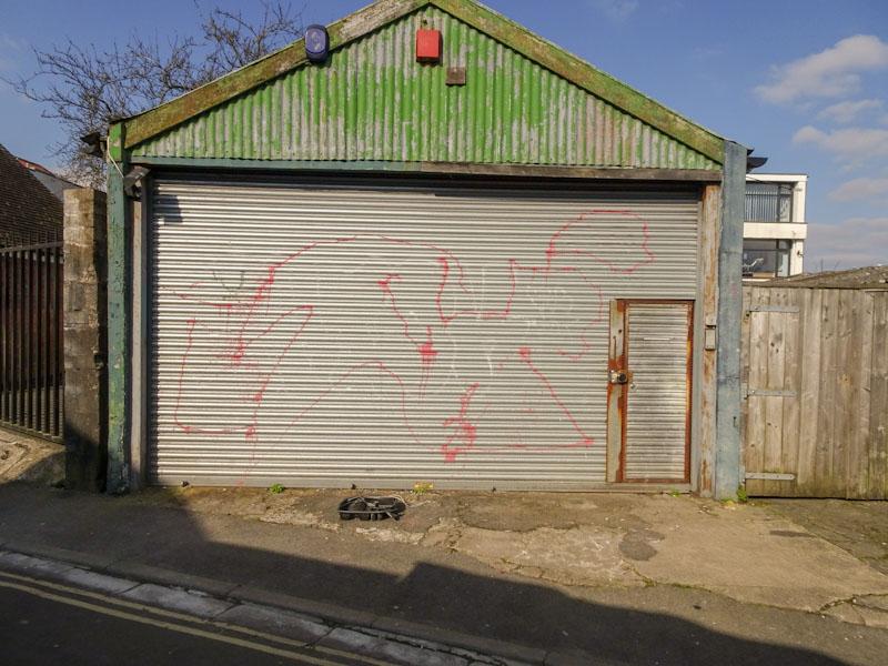 Door within a door, Bristol, April 2021