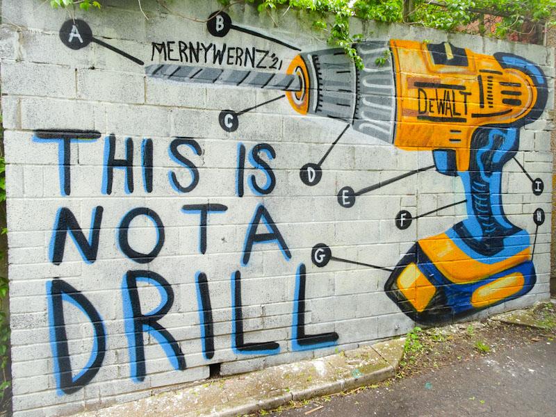 Morny, Muriel Alleyway, Bristol, May 2021