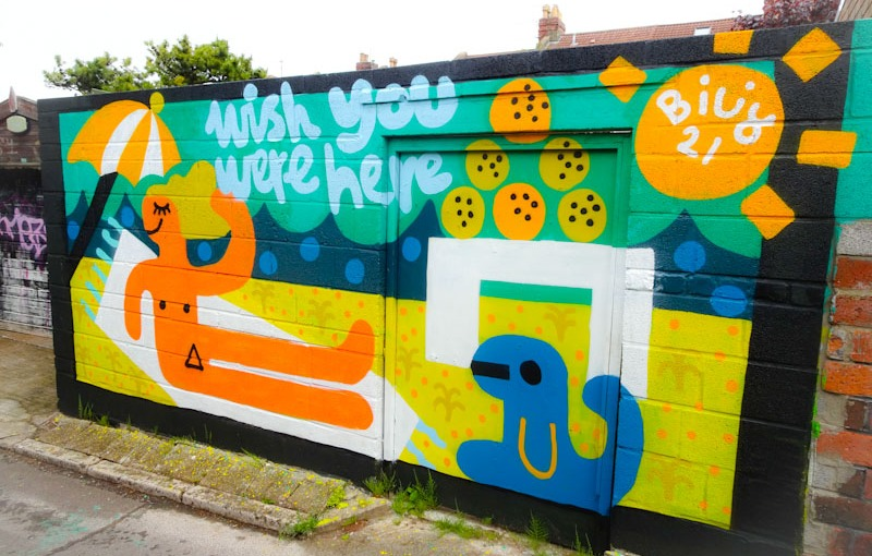Billy, Muriel Alleyway, Bristol, May 2021