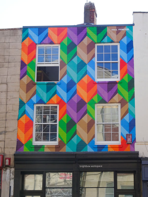 Paul Monsters, Bedminster Parade, Bristol, April 2021