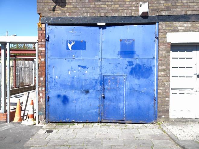 Door within a door, Bedminster, Bristol, April 2021