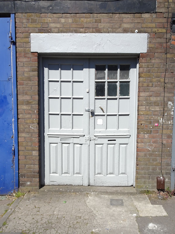 Nicely paired doors, Bedminster, Bristol, April 2021