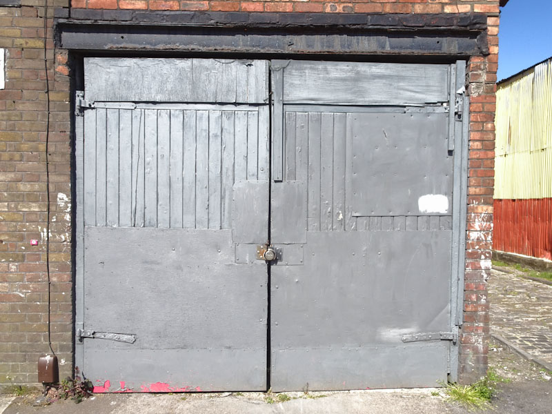 Several repairs on these doors, Bedminster, Bristol, April 2021
