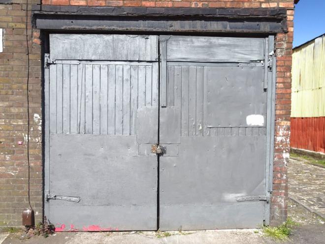 Several repairs on these doors, Bedminster, Bristol, April 2021
