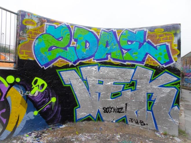 Veks, Dean Lane, Bristol, April 2021