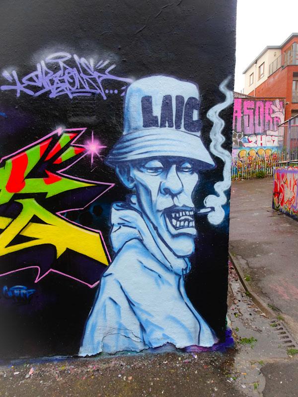Laic217, Dean Lane, Bristol, April 2021