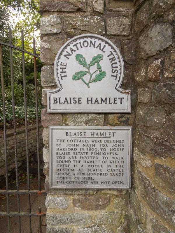 Blaise Hamlet, The National Trust, Bristol, May 2021