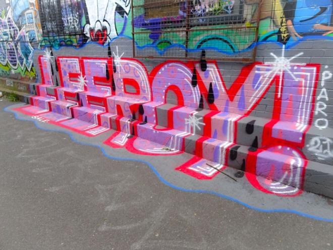 Lee Roy, M32 Cycle path, Bristol, May 2021