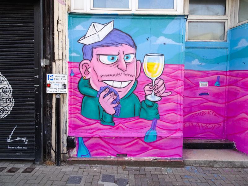 Kid Crayon, North Street, Bristol, May 2021