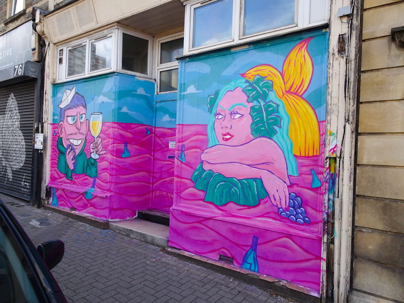 Kid Crayon and Zubieta, North Street, Bristol, May 2021