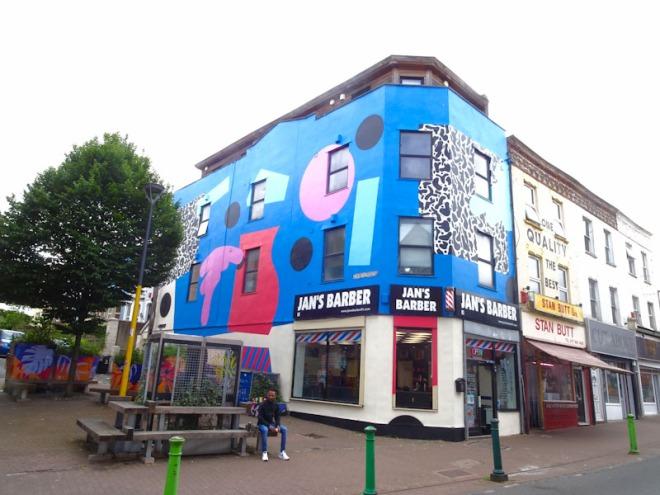 Mr Penfold, Church Road, Bristol, June 2021, Upfest 2021