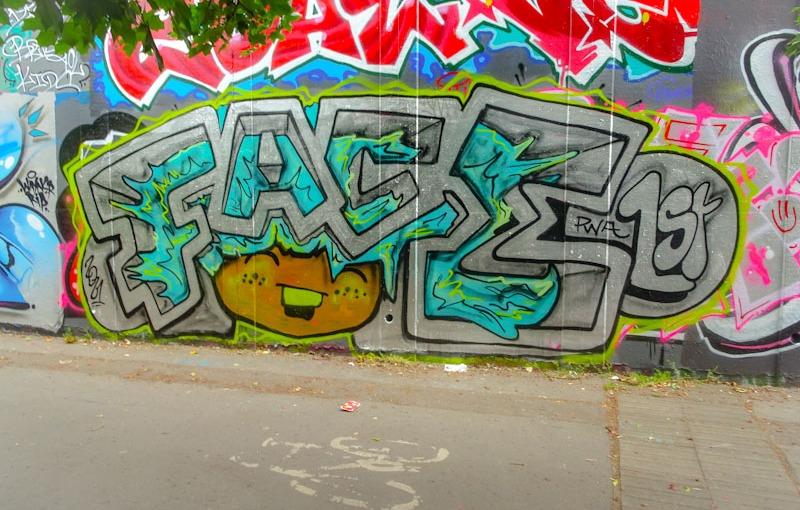 Face 1st, M32 roundabout, Bristol, June 2021