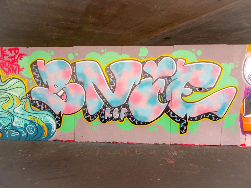 Bnie, M32 Spot, Bristol, June 2021