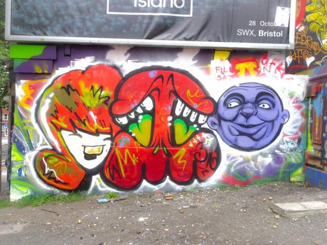 Face 1st, Soap and Zake, Turbo Island, Bristol, June 2021