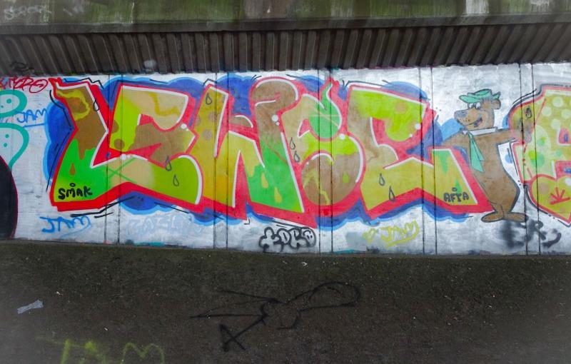 Lewse, Frome side, Bristol, June 2021