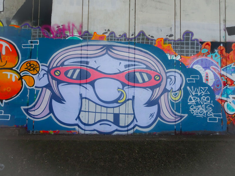Slakarts, Frome side, Bristol, June 2021