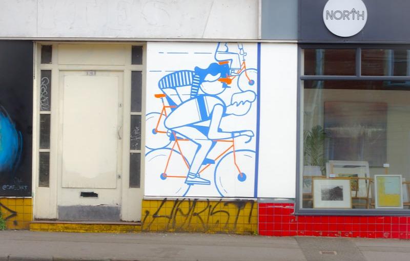Hannah Edwards, North Street, Bristol, June 2021, Upfest 21