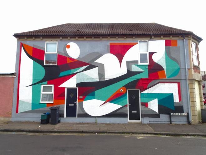 Kleiner Shames, Argus Road, Bristol, June 2021, Upfest 21