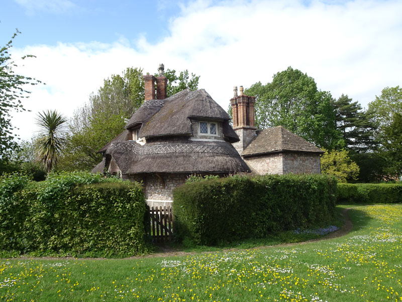 Thatched cottage No 7? Blaise Hamlet, Bristol, May 2021