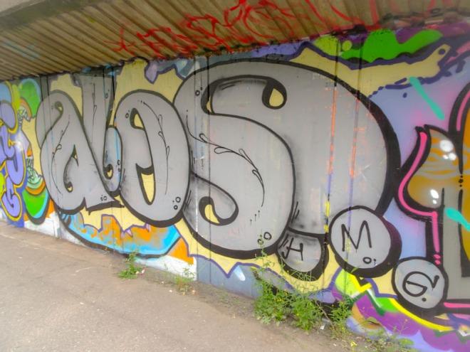 Alos, M32 Cycle path, Bristol, June 2021