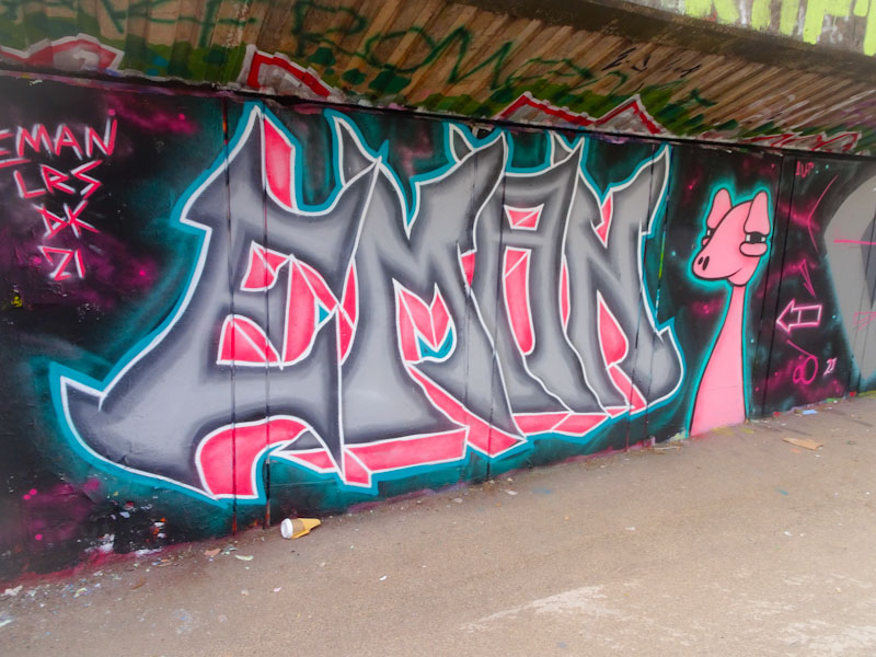 Eman, M32 cycle path, Bristol, June 2021